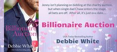 Billionaire Auction by Debbie White book tour badge https://beckvalleybooks.blogspot.com/2018/07/coming-soonbillionaire-auction-by.html