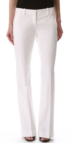 Theory Juliena Pants...white pants are always an essential to a women's wardrobe