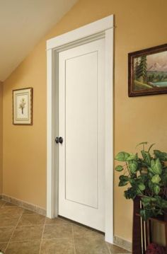 6 Panel White Interior Doors