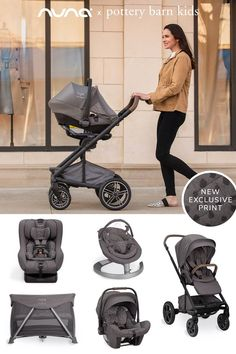 We collaborated with baby gear industry leader Nuna® to bring our favorite Broken Arrow and new Brushstroke Dot print to our most popular baby gear, including our GREENGUARD Gold Certified car seats, bouncers and playards that contribute to cleaner indoor air.