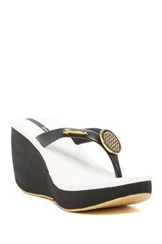 Bossa Wedge Sandal by Ipanema on @HauteLook