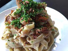715 Restaurant -  Fettuccine with Chantrelles