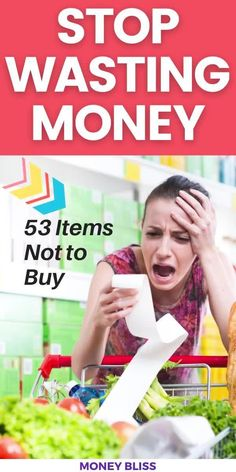 This popular money saving post from Money Bliss will save you thousands of dollars. Learn how to grocery shop on a budget. You will save money on groceries by implementing these simple frugal living tips. Go back to enjoying the family and less stress on meal planning on a budget. Click this pin to download your meal planning calendar and stock up grocery list! | Money Bliss