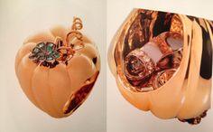 Edéenne - bague 'cendrillon' (Cinderella ring - contains a tiny diamond shoe ....)