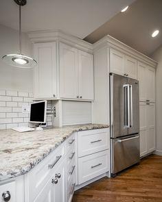 Mainline Kitchen Design. Main Line  Kitchen Design See more Bishop Zermatt Off White finish with New Ashford cherry medium stain and black paint mainlinekitchen on Pinterest