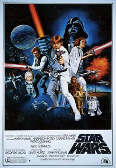 A long time ago in a galaxy far, far away.....saw this movie in 1977 as a 10 year old and fell in love with it - and with Luke Skywalker. :)