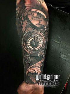 Compass map plane travel tattoo pinterest best for Renaissance tattoo san clemente
