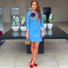 Marina Ruy Barbosa foi a convidada especial da inauguração da mais nova loja da Dolce & Gabbana no Brasil