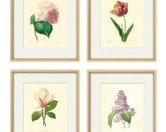 wall art set flower on Etsy, a global handmade and vintage marketplace.