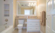 custom vanities with shelf over toilet - Home Decorating Trends - Homedit