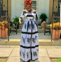 White African maxi dress,short sleeve dress,long gown,African Clothing for women. African Dresses For Kids, African Maxi Dresses, African Attire, Beautiful Dresses For Women, Stunning Dresses, African Women, African Fashion, African Art, Sotho Traditional Dresses