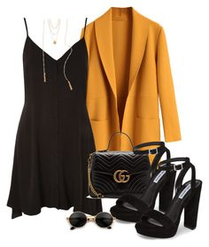 """""""Sin título #1316"""" by vivig5 on Polyvore featuring moda, Topshop, Gucci, Steve Madden y South Moon Under"""