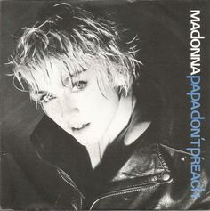 8beb0c40369a Madonna - Papa don t preach - Ain t no big deal - vinyl single record  Listing in the inch