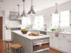 Create a sleek modern masterpiece in your very own #kitchen! #home #decor