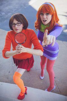 Velma und daphne lesbischen Sex