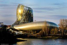 Visit La Cité du Vin, France's Wine Theme Park It's in Bordeaux, of course. France Love, Air France, Disneyland, Move Over, Parc A Theme, Bordeaux Wine, Bordeaux France, Adventure Bucket List, New Museum