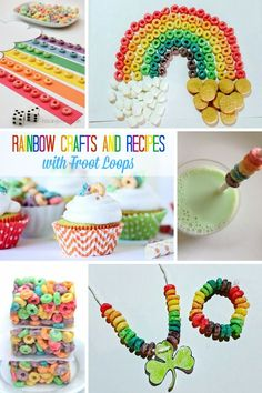 Easy St. Patrick's Day Projects with Froot Loops