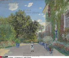 Monet, Claude (1840-1926) The Artist's House at Argenteuil, 1873