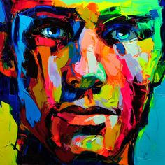 Illusion: Francoise Nielly has brought back portrait art with her palette brush technique. Watching her work is stunning. She sketches with the palette knife as if it were an erasable pencil, not wedge laden with thick paint. Over the barest outline, she layers diverse colors and integrates them with swift, decisive gestures. A few more swats.... http://illusion.scene360.com/art/49479/qa-with-palette-knife-artist-nielly/