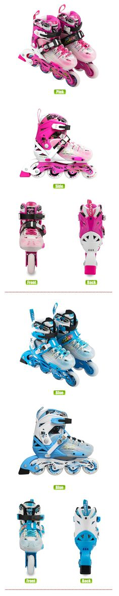 Buy 2017 WeiQiu Children Roller Skates Adjustable Four Wheels Outdoor  Inline Skating Shoes For Kids JJ Series 5 Colors Online From China 34a90323ee