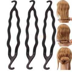 61 Best Hair Tricks Images Braid Tool Hairdos Buns
