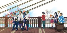 widescreen wallpaper anohana