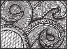 Note Card - Zentangle 1 | Flickr - Photo Sharing!