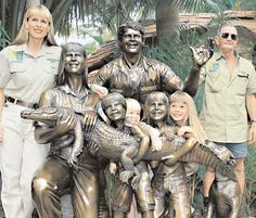 The Steve Irwin Memorial Statue