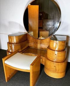 Art Deco Epstein Dressing Table and Stool 1930
