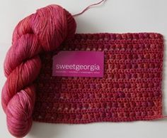 Merino Silk Fine  by SweetGeorgia Yarns - #Yarn review from Love of #Crochet magazine