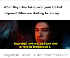 Hm... well forge responsibilities, I'm just gonna be over here falling even deeper into the reylo ship. no turning back now! XD