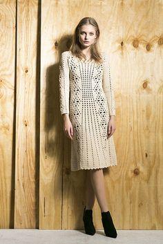 """В этой теме будем вязать платье от Veronica Beard, коллекция Pre Fall 2014. Тег для воплощений """"галерея 157391"""""""