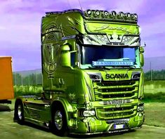 Customised Trucks, Cars And Motorcycles, My Dream, Vehicles, Photos, Style, Cars And Trucks, Trucks, Italy