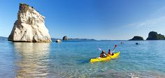 Cathedral Cove take a boat or kayak to see the sights