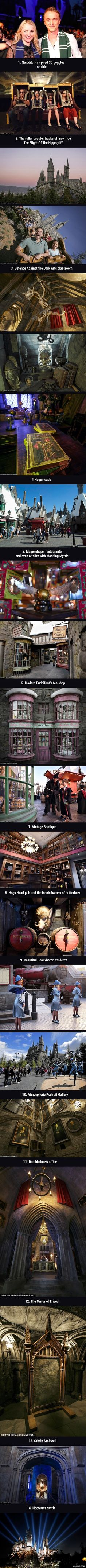 First Look At The Wizarding World of Harry Potter At Los Angeles - 9GAG by ofelia