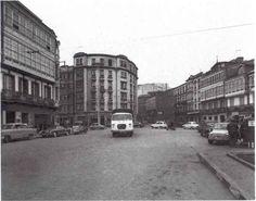 Plaza de Pontevedra,hacia Juan Florez y Avda Finisterre,en la decada de los 60
