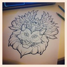 Drawing by Sara Fabel.