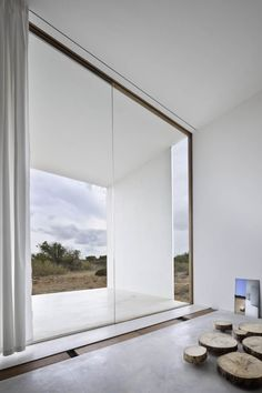 Interior/exterior overflow in residential house and office on Formentera Island by Marià Castelló Martínez