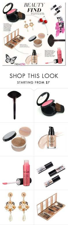 """NewChic - Beauty Find"" by tatajrj ❤ liked on Polyvore featuring beauty"