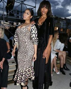 39fa09f43f6a0 Models Singers Nicki Minaj and Ciara Things to Know About Givenchy s Spring  2016 Show