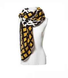 Image 2 of COMBINED PRINTED SCARF from Zara