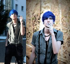pastel goth guy clothes - Google Search