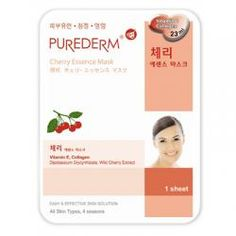 Purederm Cherry Essence Mask