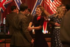 Foyle's war- Sam dancing with her American date