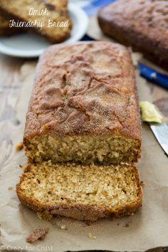 "Amish Friendship Bread with a recipe for the starter! This makes the best ""quick"" bread ever!"