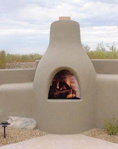 Stucco Corner Fireplace   Fireplaces   Pinterest