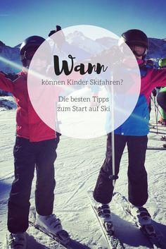 Ab welchem Alter können Kinder das Skifahren lernen? Die besten Tipps für einen entspannten Start auf Ski.