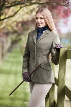 Who wouldn't love to receive an #Equetech Claydon Tweed Riding Jacket as a present?!