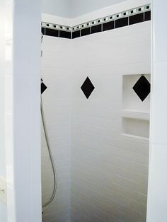 Built In Niches Incorporated Into The Shower Wall Allow Plenty Of E For Shampoo And Soap