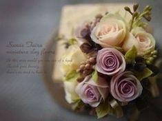 ♡ ♡ POR SANAE TAIRA.:  ~miniature clay flower~